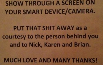 Rock Group Yeah Yeah Yeahs Say No No No to Smart Devices & Cameras